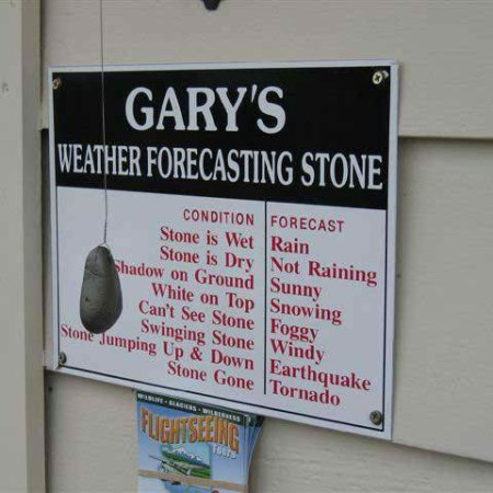 distrbingly accurate weather machine, more like it