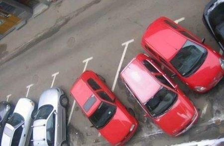 hooray women parking