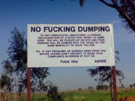 please dump here.