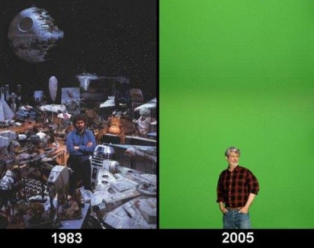 the sad evolution of George Lucas